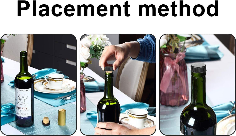 YYWEi Lot de 10 Bouchons /à vin Bouchon Liege pour lartisanat Diam/ètre 2 cm Clair la d/écoration en li/ège Naturel 3 cm de Long