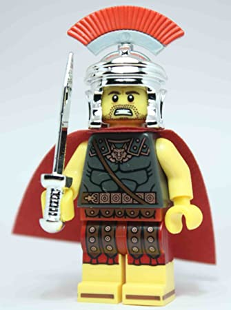 10 LEGO-MINIFIGURES SERIES X 1 SWORD FOR ROMAN COMMANDER FROM SERIES 10 PARTS