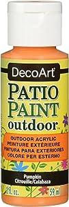 DecoArt 25821 Patio Paint 2-Ounce Pumpkin Acrylic Paint