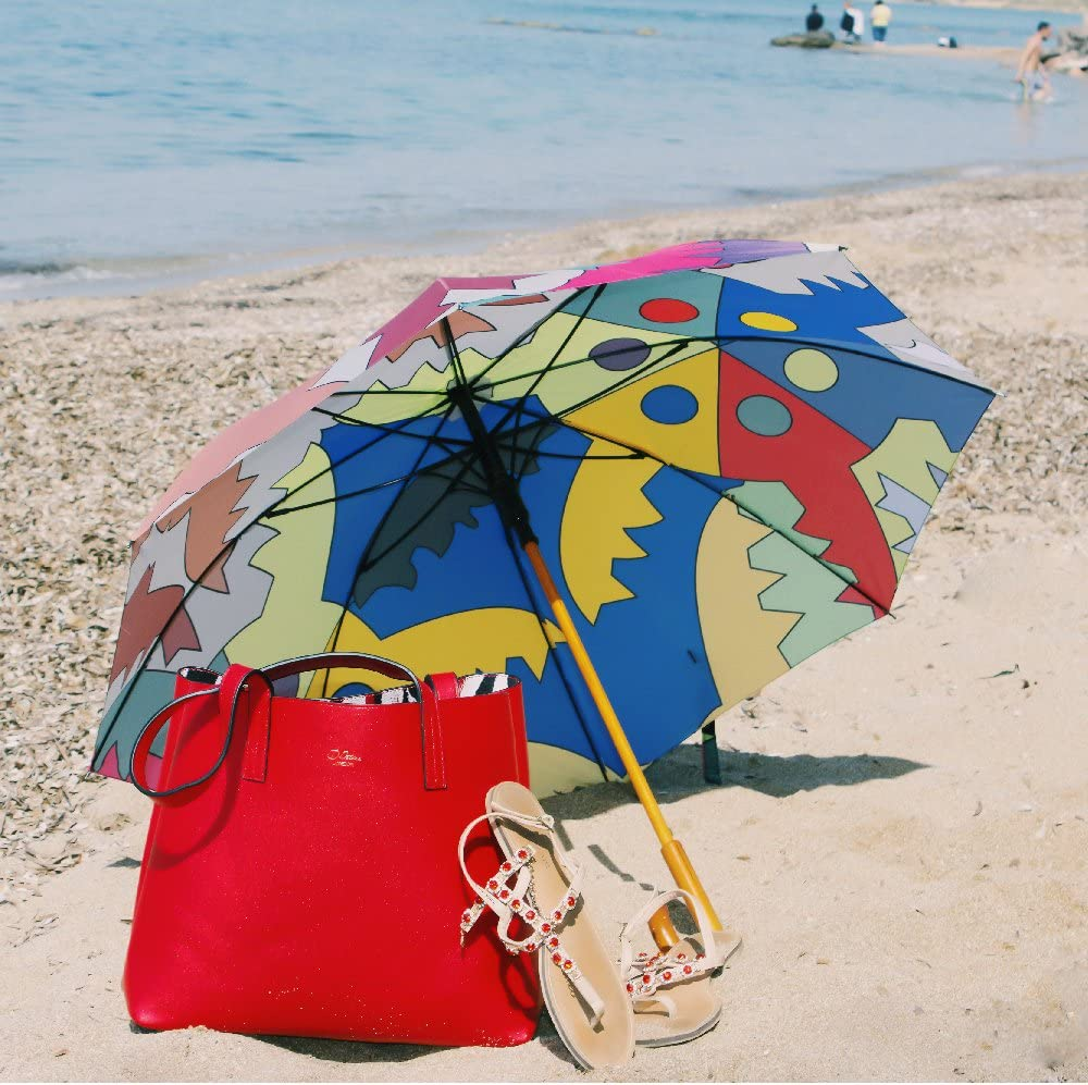 ID PETERS LONDON Parapluie Cannes Bleu Bleu