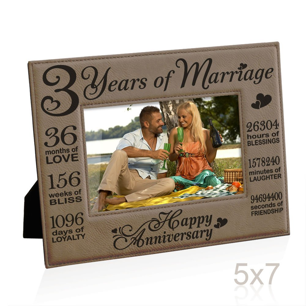 Wedding Gifts By Years: 3 Year Anniversary Gifts For Him: Amazon.com