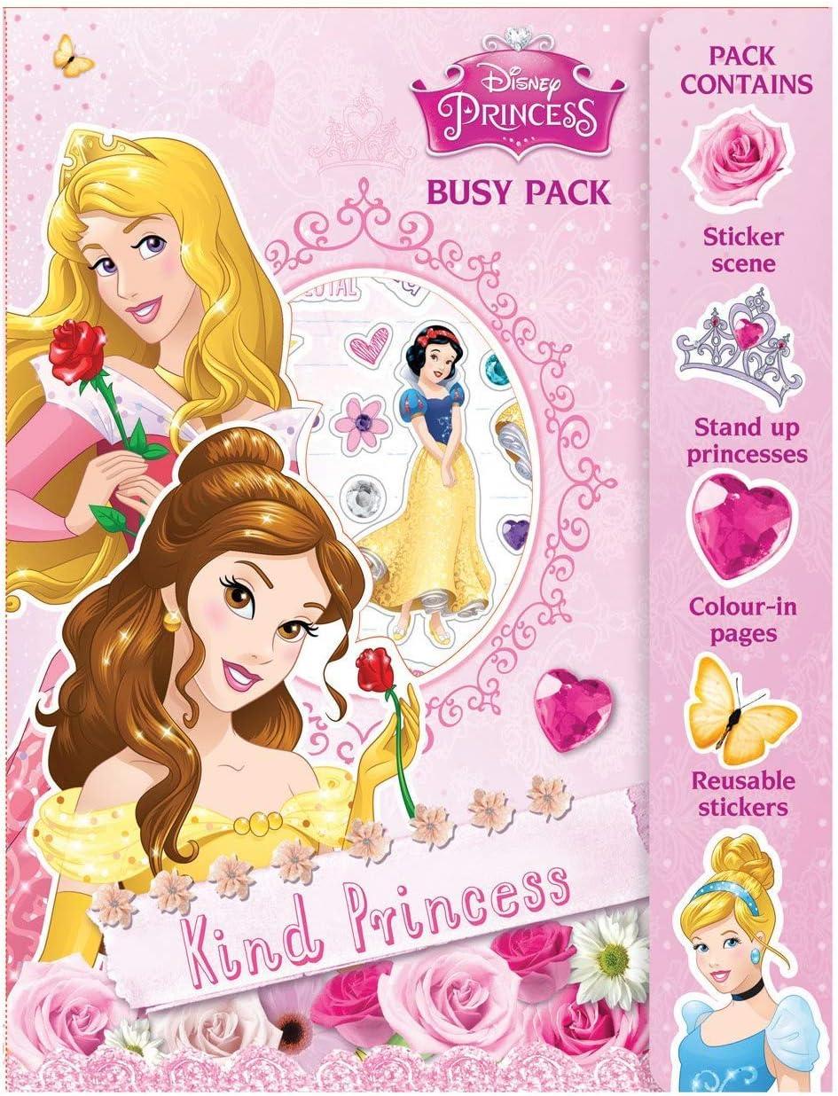 Princess Busy Pack, de plástico, dibujo multicolor, libro de ...
