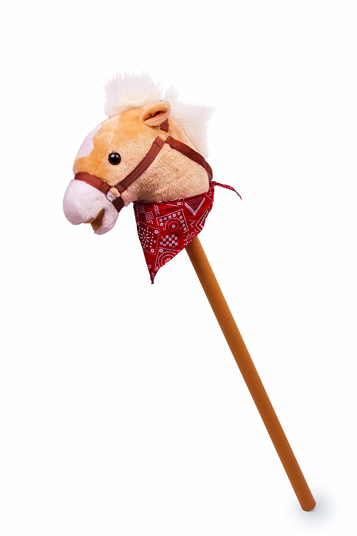 small foot company 4151 - Bastón con cabeza de caballo de peluche [Importado de Alemania] 2020181