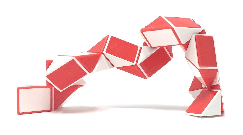 Sensory Fidget Snake Cube Twist Puzzle by OTTC Our Sensory Fidget Toy Bundle Set Provides Hours of Stress Reduction Set of 3