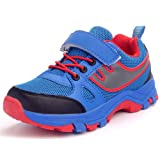 DADAWEN Boy's Girl's Breathable Strap Closure Outdoor Trail Running Shoe(Little Kid/Big Kid)