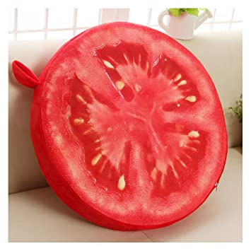 Amazon.com: Creative 3d Fruit/diseño de postre Back Cushion ...