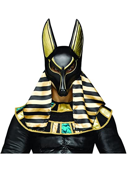 fun world mens anubis mask multi adult size