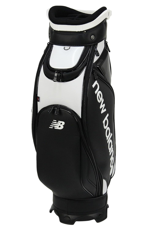 ニューバランス ゴルフ new balance golf キャディバッグ 9型 46インチ対応 メンズ レディース 012-8980001 B07B4TMRVL ホワイト×ブラック(031) ホワイト×ブラック(031)