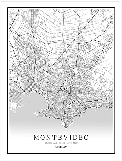 ZWXDMY Prints Canvas,United Kingdom Ipswich City Map Modern Black White Minimalist Painting Simple Art Mural Poster Cafe Living Room Vertical Decoration,20/×30Cm