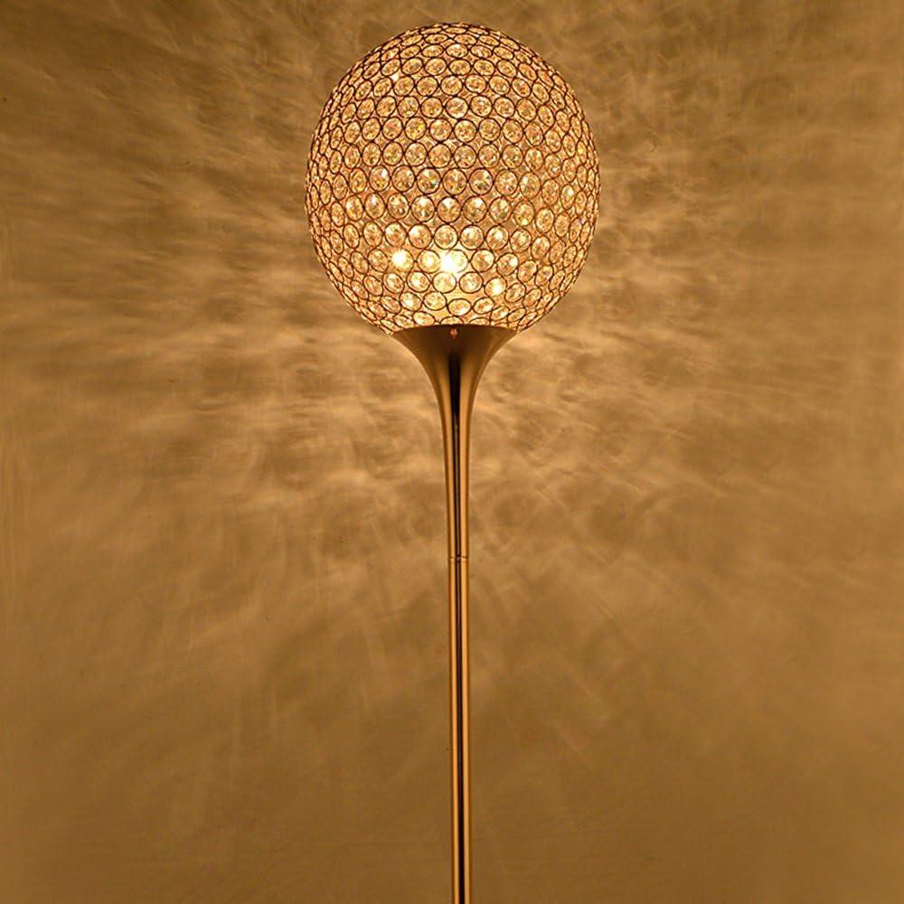 Kristall Stehleuchte Moderne Minimalistische Beschichtung Gold