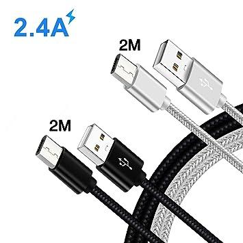 Cable Cargador Micro USB Carga Rapida para Movil Xiaomi ...