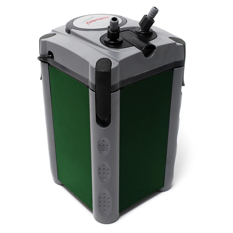 Jebao 304 Filtro externo de acuario 1200l/h 4 etapas con material filtrante: Amazon.es: Productos para mascotas