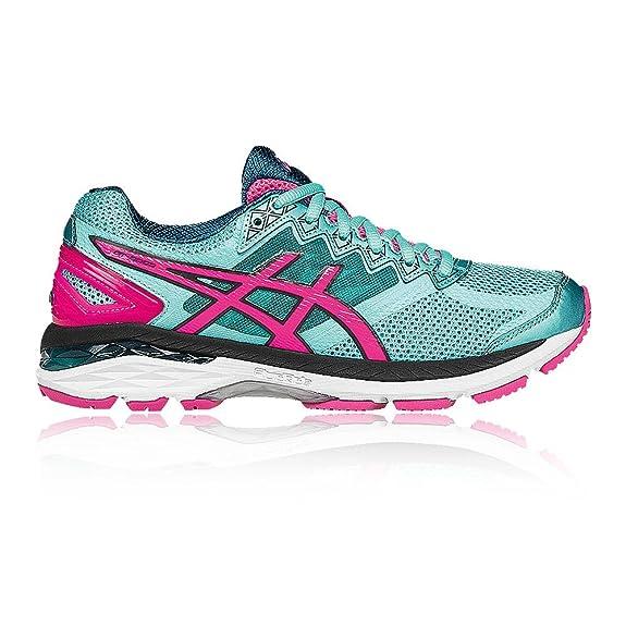 Asics Gt-2000 4, Damen Laufschuhe, Pink (Azalea/Turquoise/White 2140), 38 EU