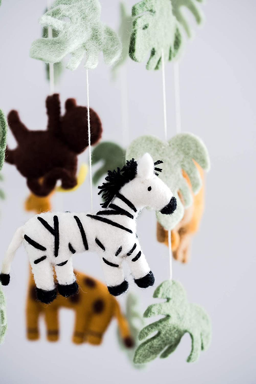 Wild Animals Mobile Jungle Animals Baby Mobile Safari Nursery Room Decor Safari Theme Nursery Wild Animals Decoration