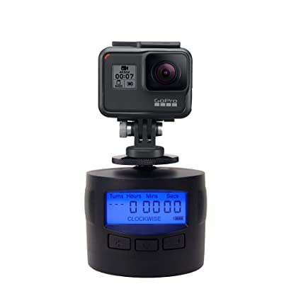 bf736454d1506d Amazon.com : TurnsPro - Time Lapse Camera Mount - Panning Rotating 360 for  GoPro DSLR iPhone. Motorised Pan Head for Panoramic Photos : Camera & Photo