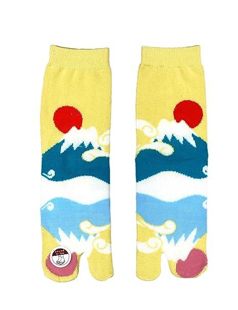 Calcetines Tabi japoneses para zapatos: Monte Fuji.
