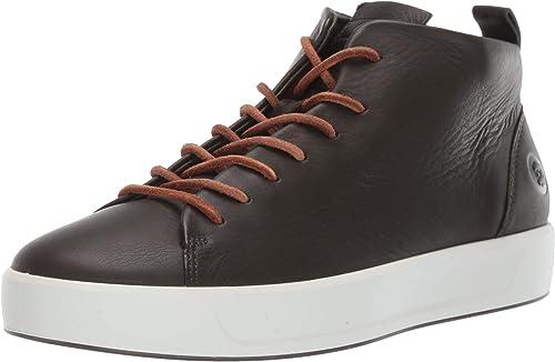 var man kan köpa var kan jag köpa eleganta skor Amazon.com | ECCO Men's Soft 8 Mid Cut Sneaker | Fashion Sneakers