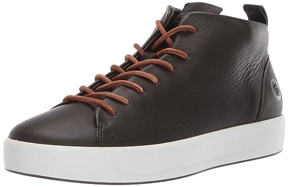 ECCO Herren Soft 8 M Hohe Sneaker, Grün (Deep Forest 1345), 41 EU