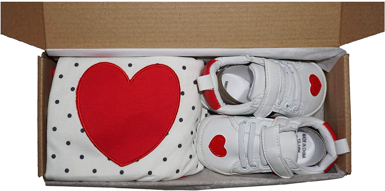 red, 0-3 months Newborn Baby Boy//Girl Gift Set 100/% Cotton Baby Gift Basket for Baby Shower or Birthday