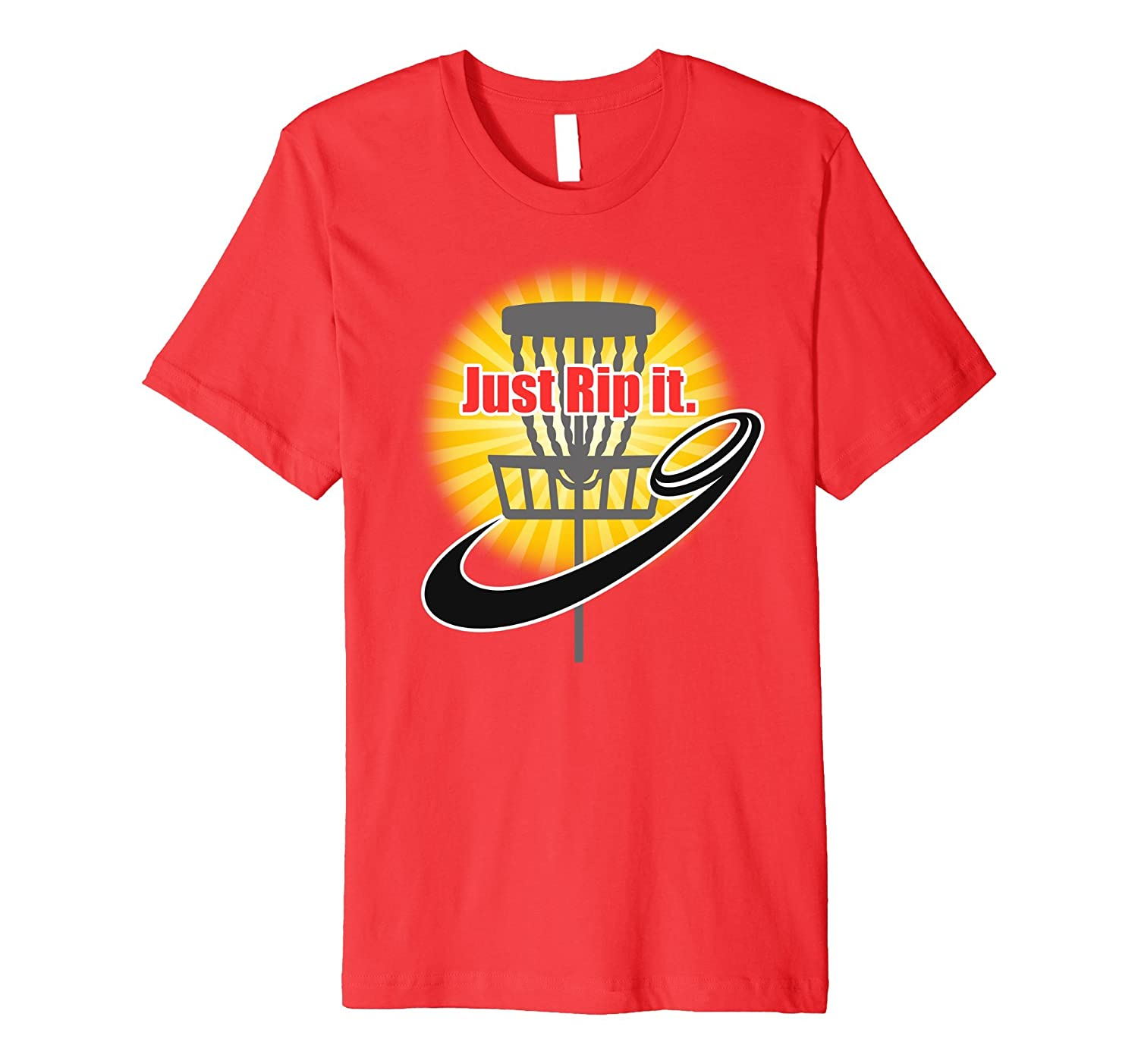 Just Rip It – Funny Disc Golf Shirt