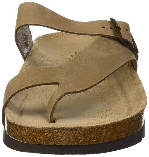 GRUNLAND Hola, Zapatos de Playa y Piscina para Mujer, Gris (Taupe Taup), 37 EU