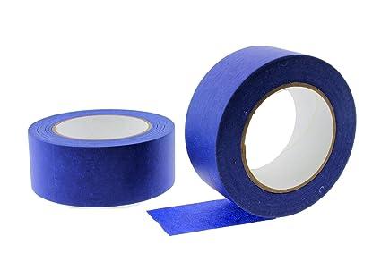 2pk 2 x 60 yd blue painters tape professional grade masking edge trim easy removal - Blue Painters Tape