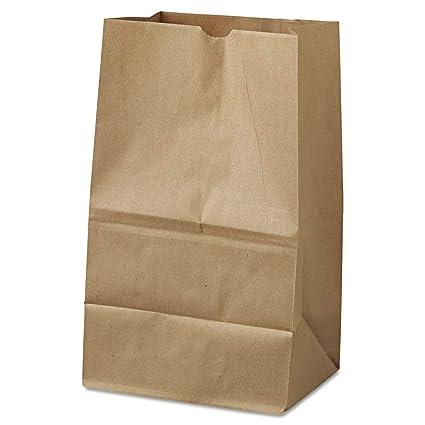 Amazon.com: # 20 Squat Natural bolsas de papel (500 ct.)