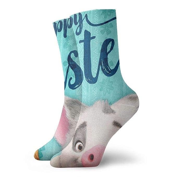 Amazon.com: Pig Pua & Cock Hei Calcetines casuales para ...