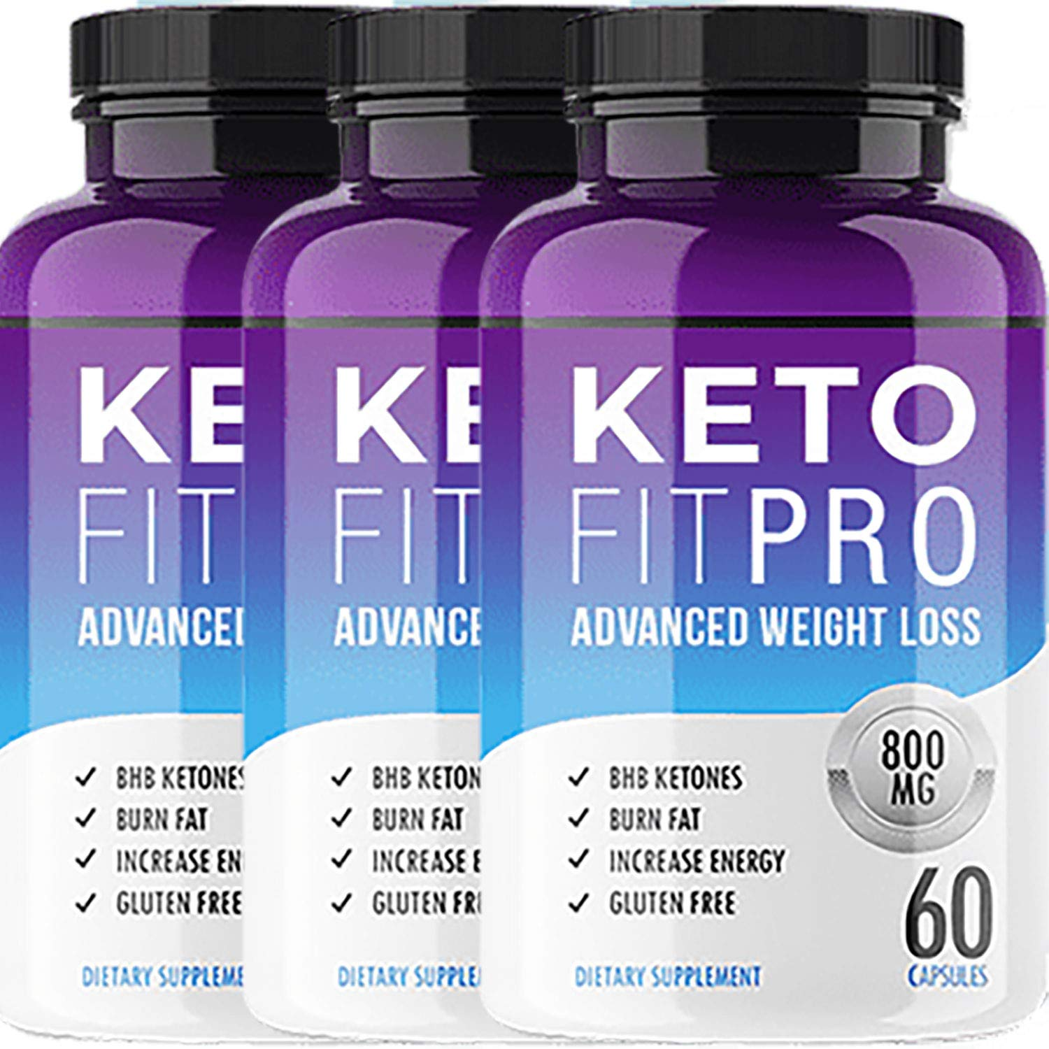 Keto Fit Pro – Advanced Ketosis Weight Loss – Premium Keto Diet Pills – Burn Fat for Energy not Carbs 3 Month Supply