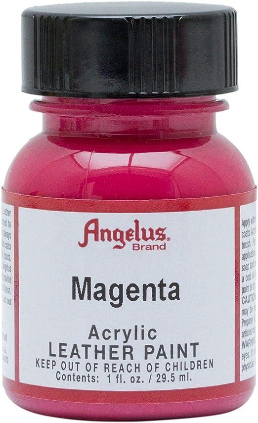 Angelus Pintura para cuero 28,3 g, color magenta