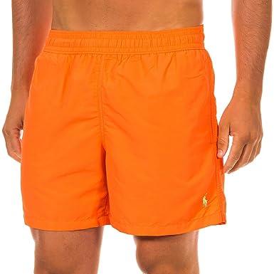 Ralph Lauren - Short de bain Ralph Lauren orange S  Amazon.fr ... ca6d8f3186be