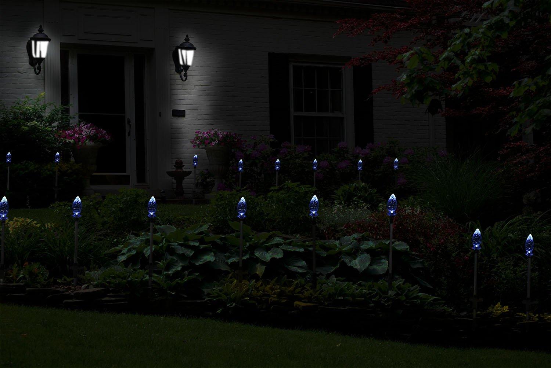Solarmks Garden Solar Lights Outdoor Décor White Vivid Flower Bud LED Garden Lights ,Solar Garden Stake Lights for Outdoor Decorations