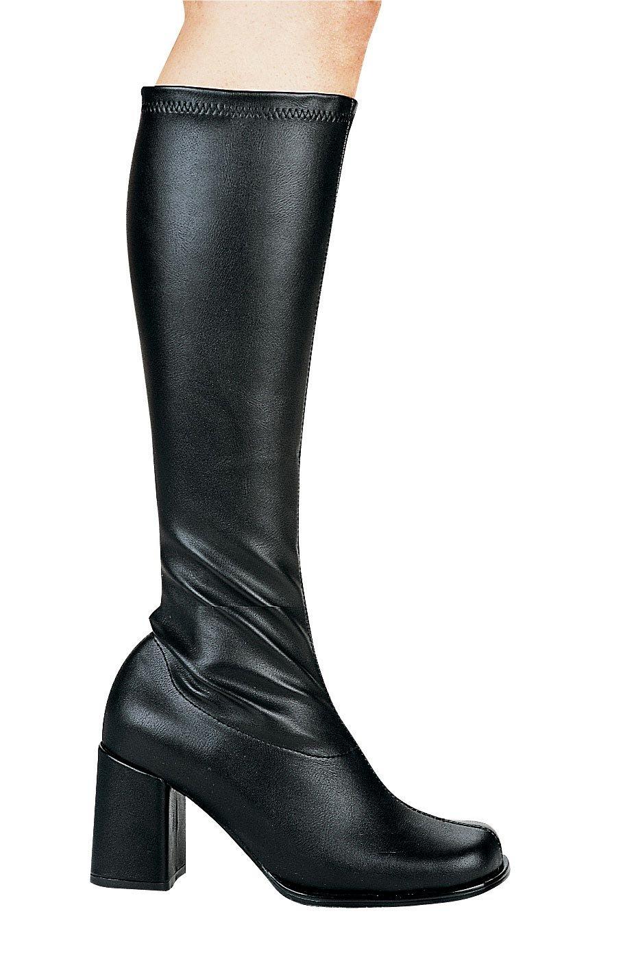 Ellie Shoes Women's Go-Go Boot B00KWCVP3M 12|Black Pu [Matte]