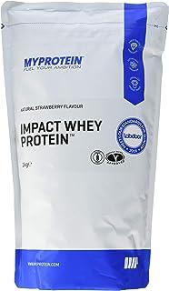 MyProtein Impact Whey Proteína de Suero, Sabor Fresa Natural - 1000 gr