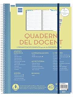 Finocam Cuaderno del Docente - Agenda, 230 x 310 mm: Amazon ...