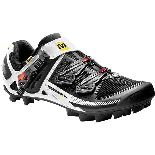 Mavic Tempo - Zapatillas MTB para hombre - blanco/negro Talla 45 1/3 2015: Amazon.es: Zapatos y complementos