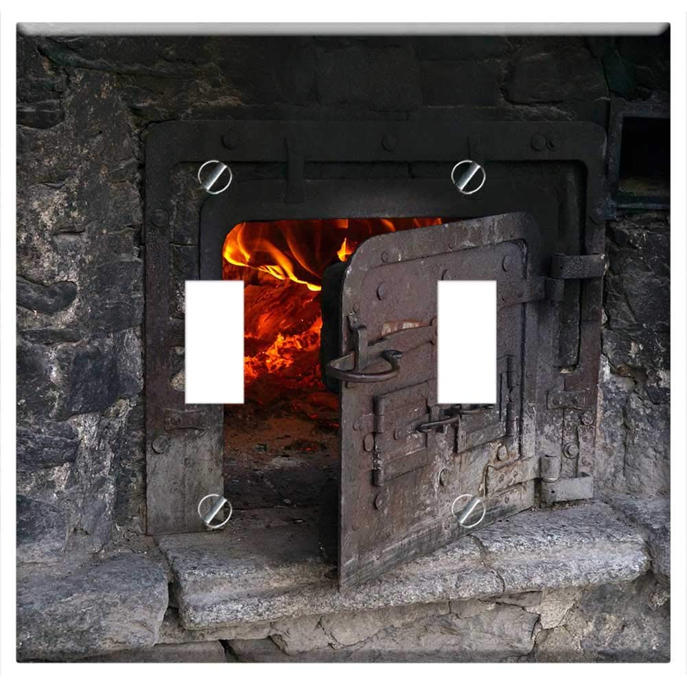 Switch Plate Double Toggle - Backhaus Stone House Bread Baking The Village Oven