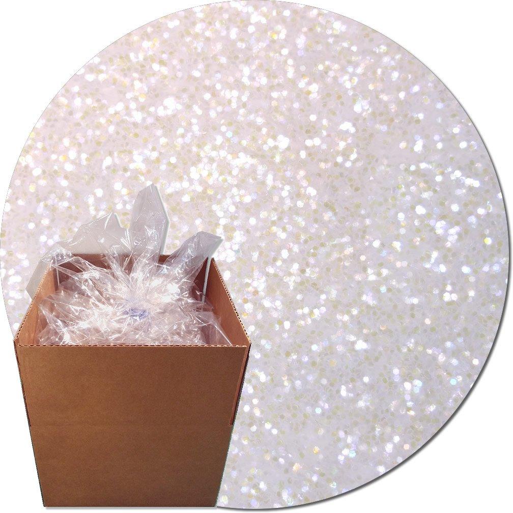 Glitter My World! Craft Glitter: 25lb Box: Violet Dawn Iridescent