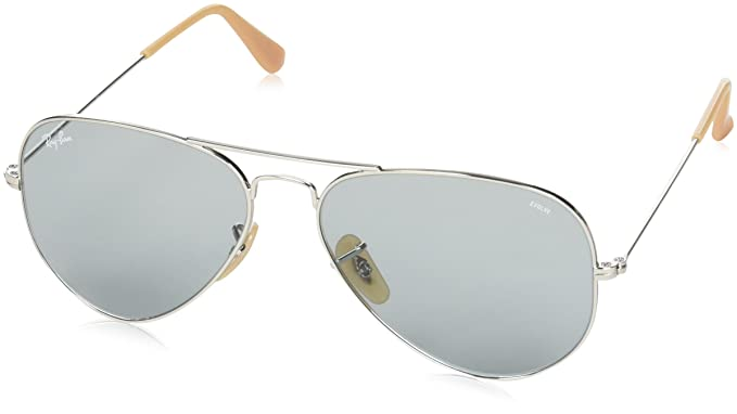 92189f69648346 Image Unavailable. Image not available for. Colour  Ray-Ban UV Protected  Aviator Men s Sunglasses ...