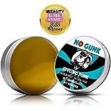 NO GUNK - Cire/Pommade Coiffante Bio 100% Naturelle Pour Cheveux/Barbe - Tenue Moyenne - Gagnant, Meilleur Produit Capillaire Pour Homme 2018, Prix PURE Beauty Global - Styling Funk (Original, 50g)