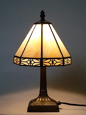 4c583e87e4b914 Bella-Vita Dapo Tischleuchte Dana im Tiffany Stil Lampe Leuchte Dekoleuchte  Tischlampe: Amazon.de: Beleuchtung