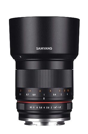 SAMYANG 1223210101 50mm F1.2 Objektiv für Fuji X