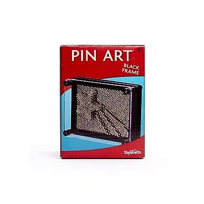 Toysmith Pin Art (Black Frame 3.75-Inch x 5-Inch): Toys & Games