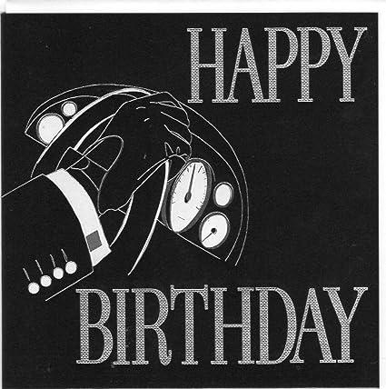Die Noir Serie Von Koko Designs Edle Doppelkarte Happy Birthday