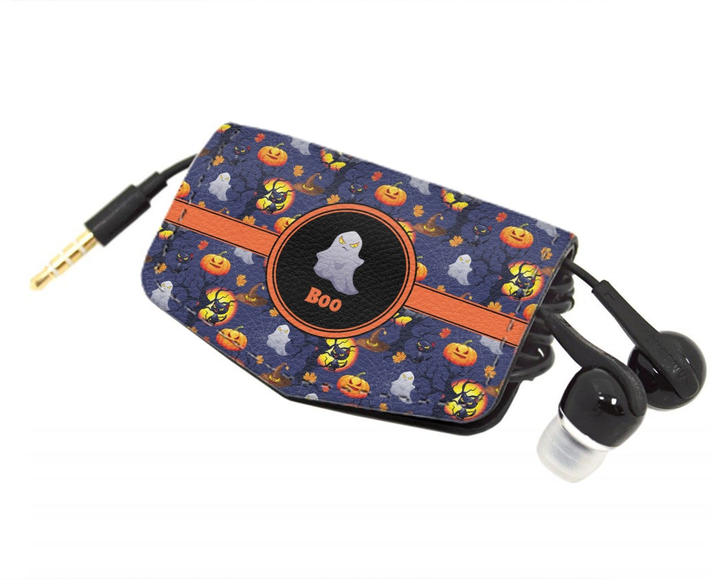 Halloween Night Genuine Leather Cord Wrap (Personalized)