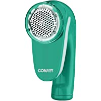 Conair Fabric Defuzzer-Shaver, Battery Operated, Green