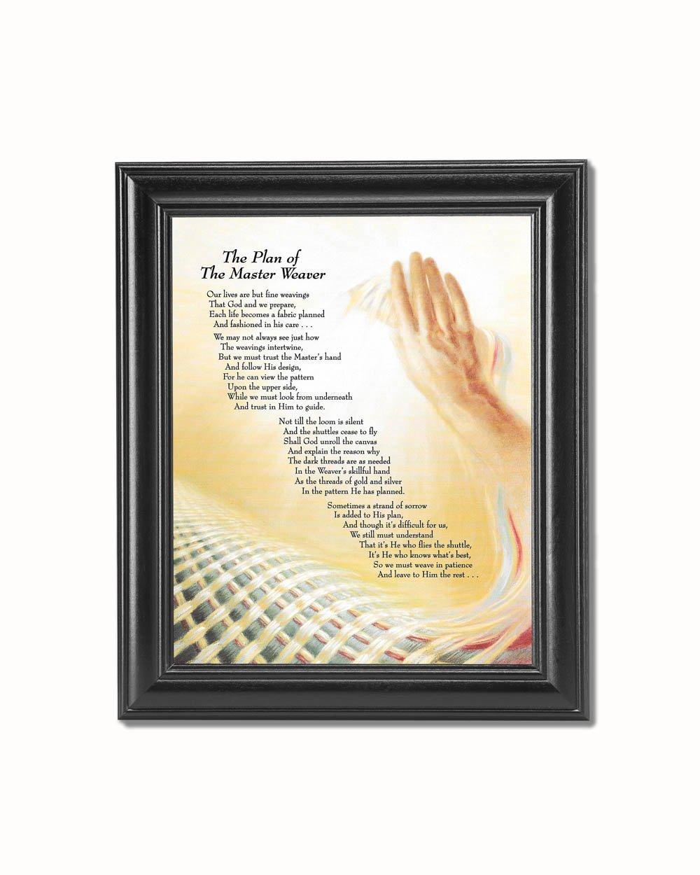 Amazon.com: Plan of the Master Weaver Christian Religious Black ...