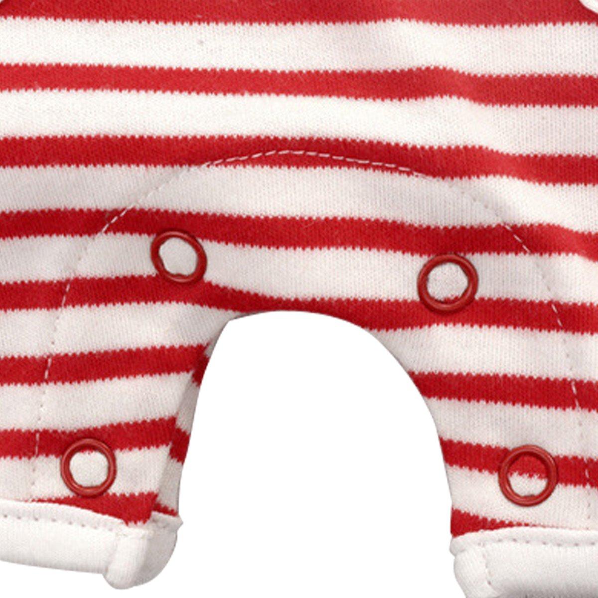 Bebone Mameluco Pelele Deporte Bebé Niño Algodón sin Manga (Rojo, 18-24M): Amazon.es: Ropa y accesorios