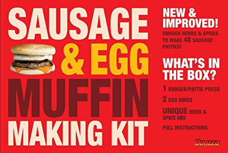 Sausage And Egg Breakfast Muffin Kit Make Your Own Delicious Mcdonalds Style Breakfast Muffins At Home Whenever You Feel Like One Without Having To Go To A Fast Food Outlet Comes In