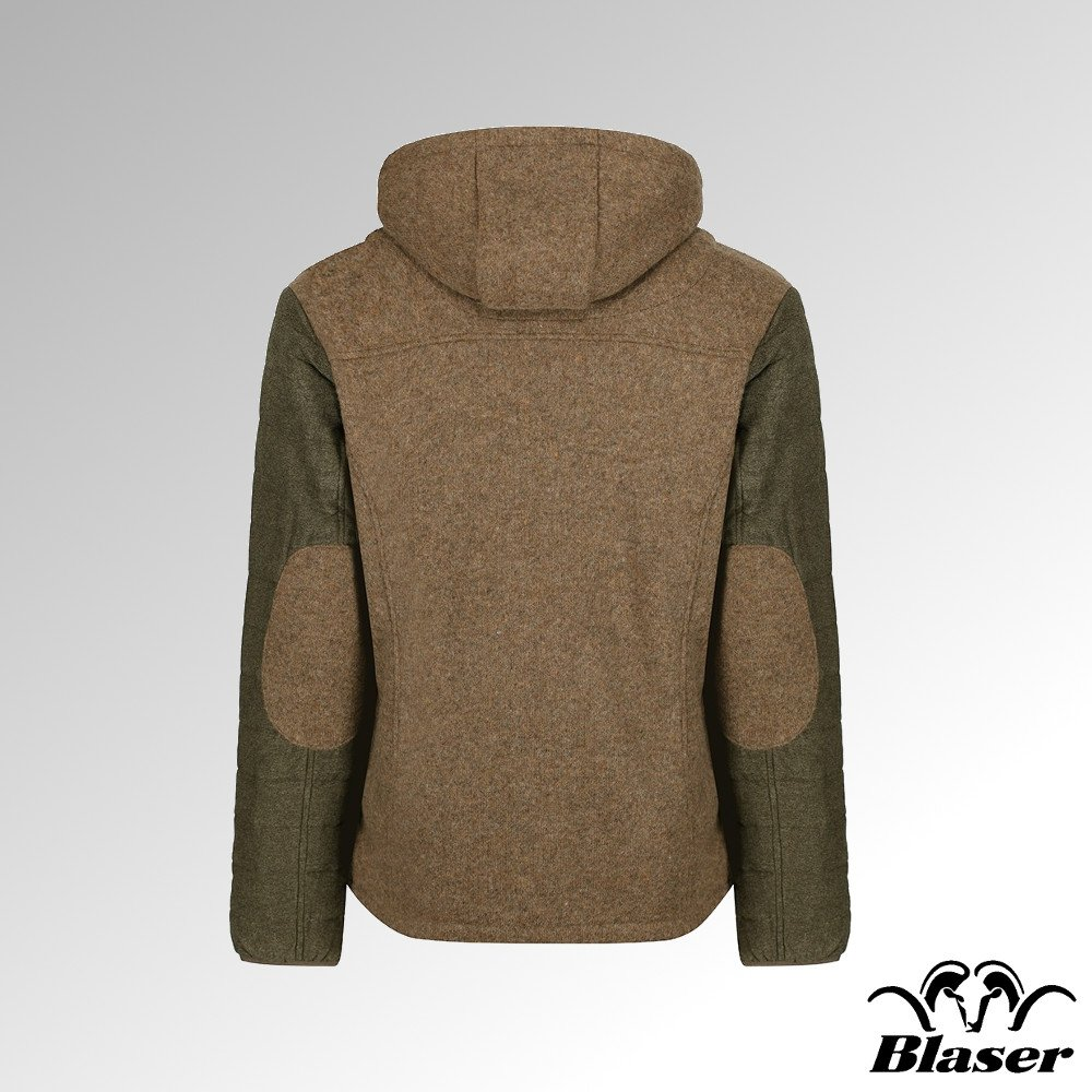Blaser Vintage Woll Fleece Jacke Herren